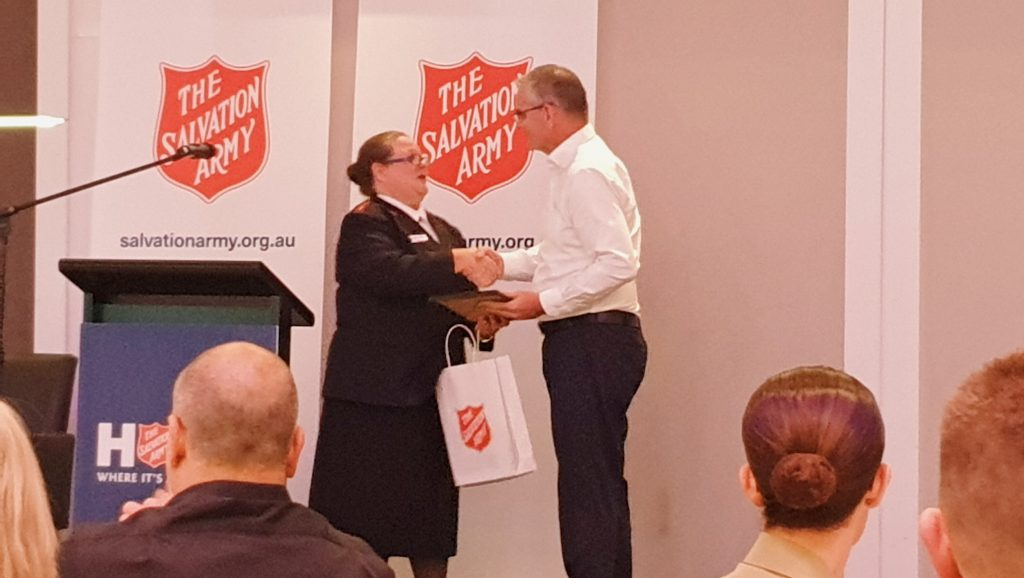 BM Director recognised for charity contribution
