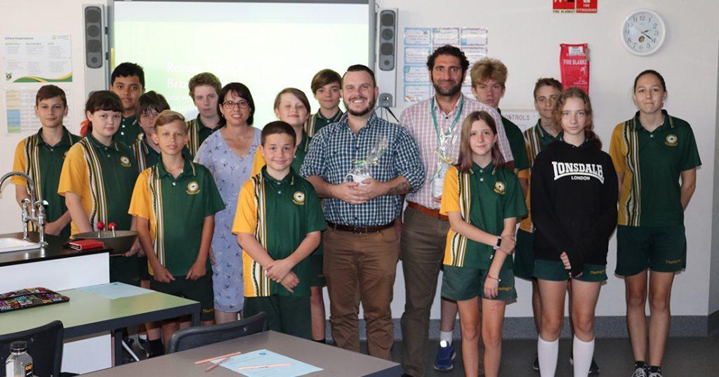 BM Director celebrates STEM at Thuringowa State High School