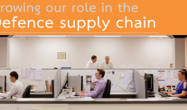 Successful Defence supply chain grant